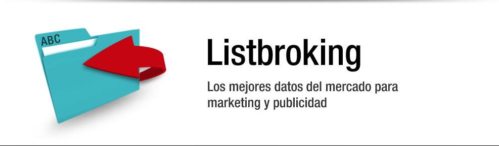 Listbroking: Los mejores datos del mercado para Marketing